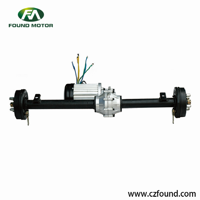 Gearbox rear axle Switched reluctance motor for electric tricycles and three wheel rickshaw - 副本