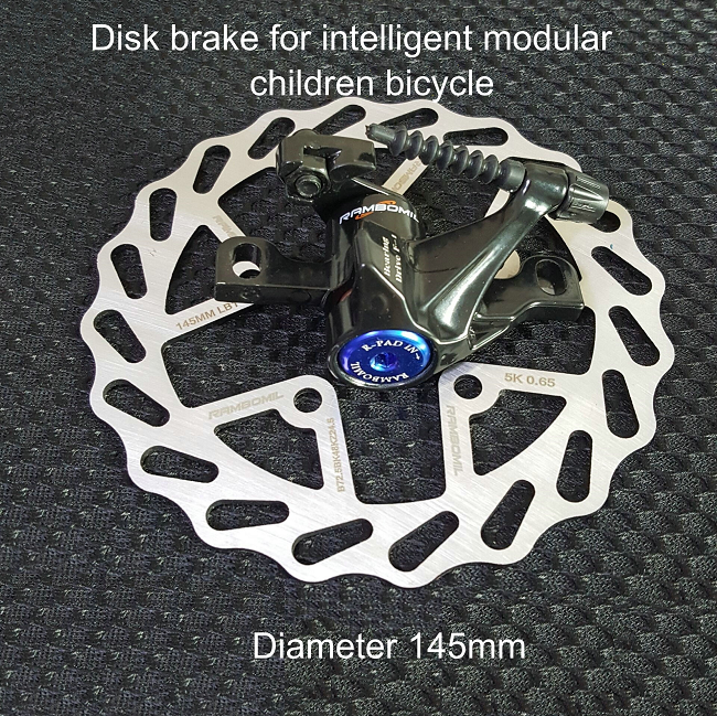 145mm Disk brake for children bicycle