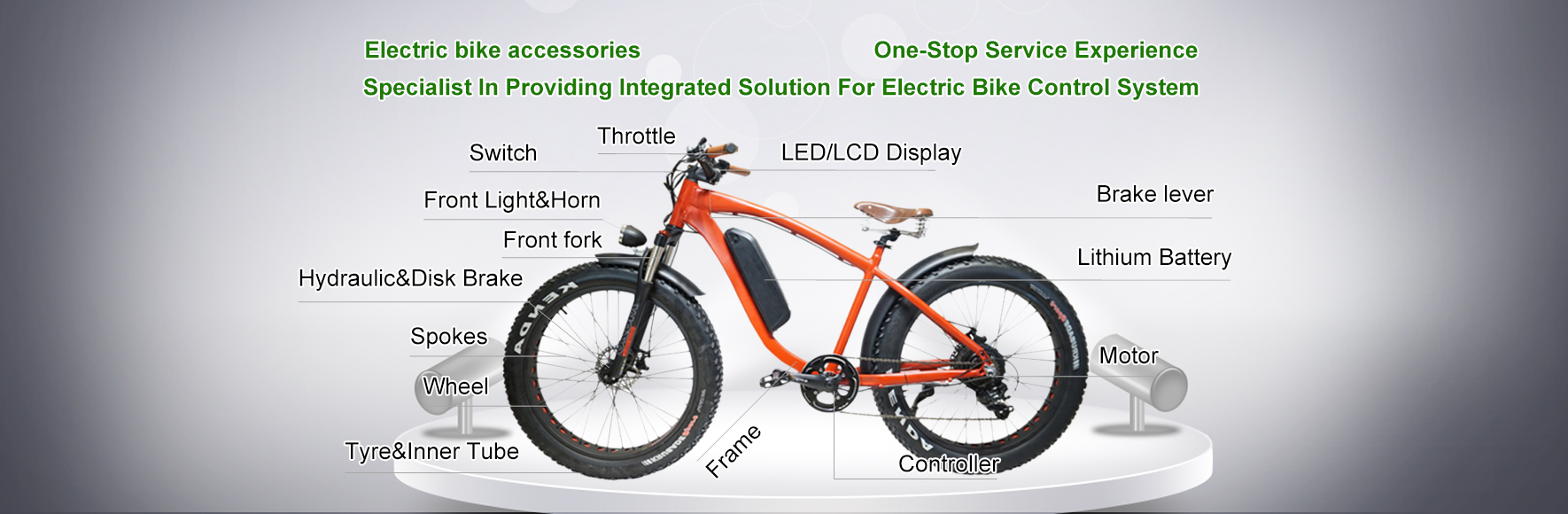 Electric bike accessories