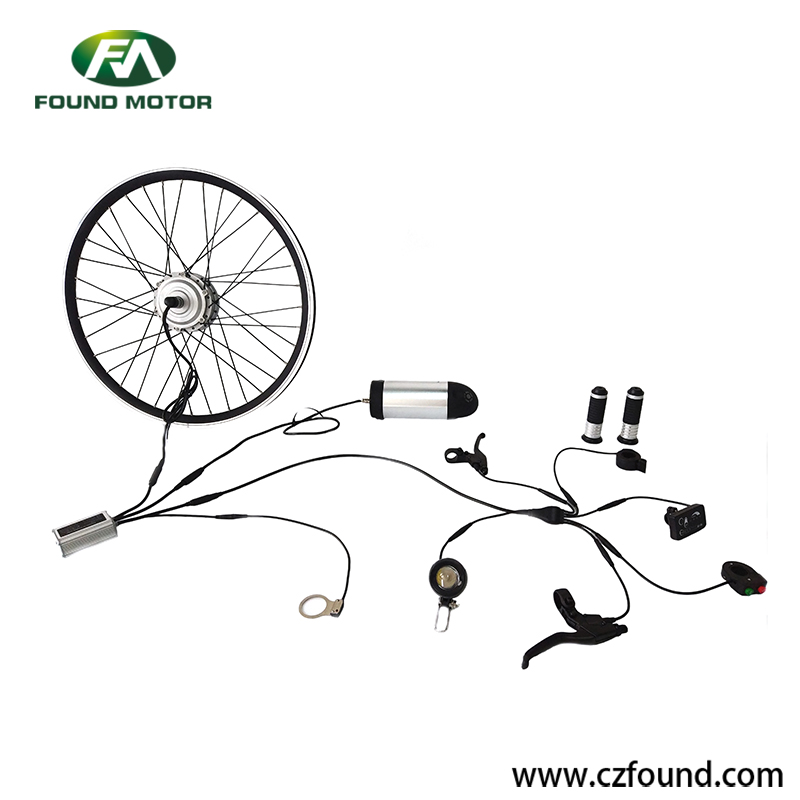 Electric bike conversion kit with waterproof bus cable case  2