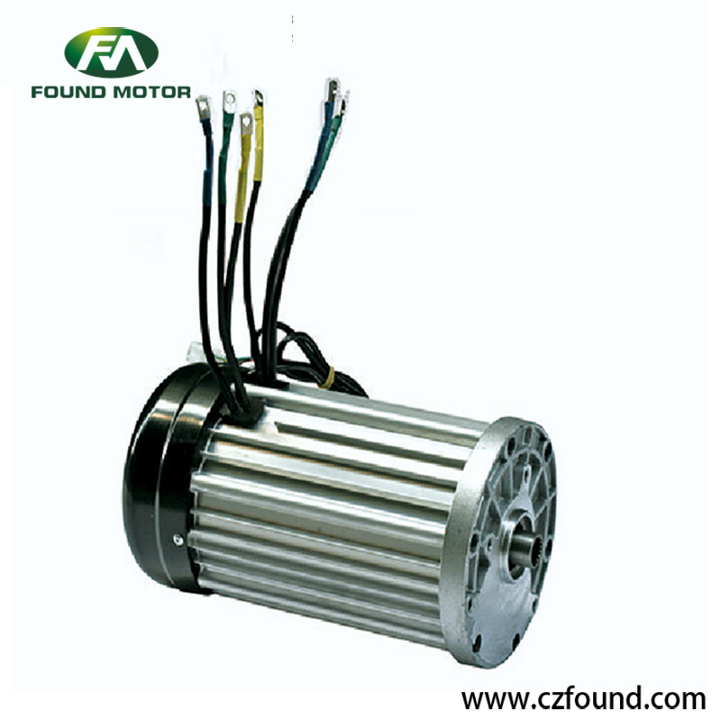 48V/ 1200W Switched reluctance motor for electric tricycles and three wheel rickshaw