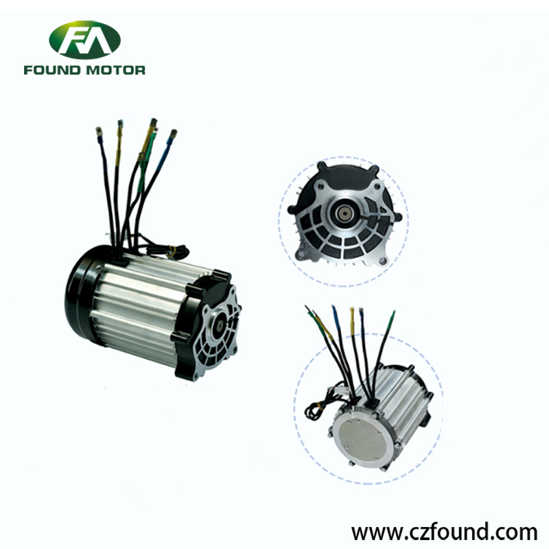 60V/ 1500W Switched reluctance motor for electric tricycles and three wheel rickshaw
