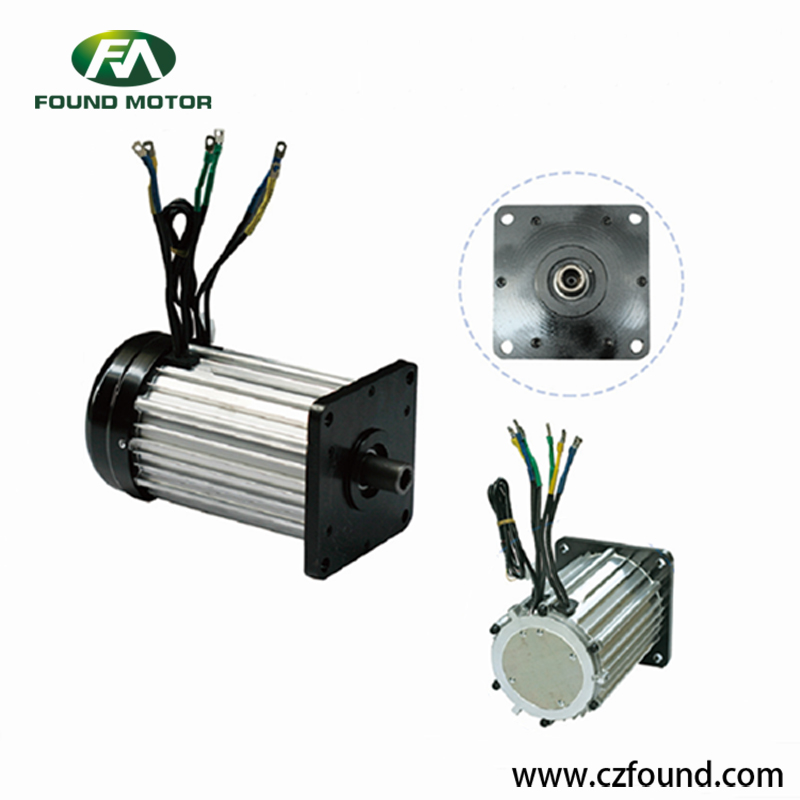 48V/ 1800W Switched reluctance motor for electric tricycles and three wheel rickshaw