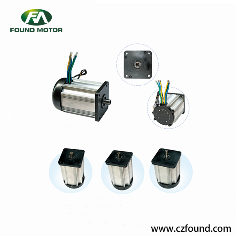 48V/ 4000W Switched reluctance motor for electric tricycles and three wheel rickshaw