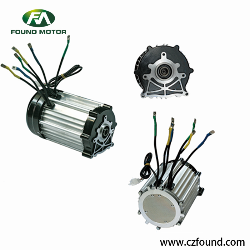 72V/ 2000W Switched reluctance motor for electric tricycles and three wheel rickshaw