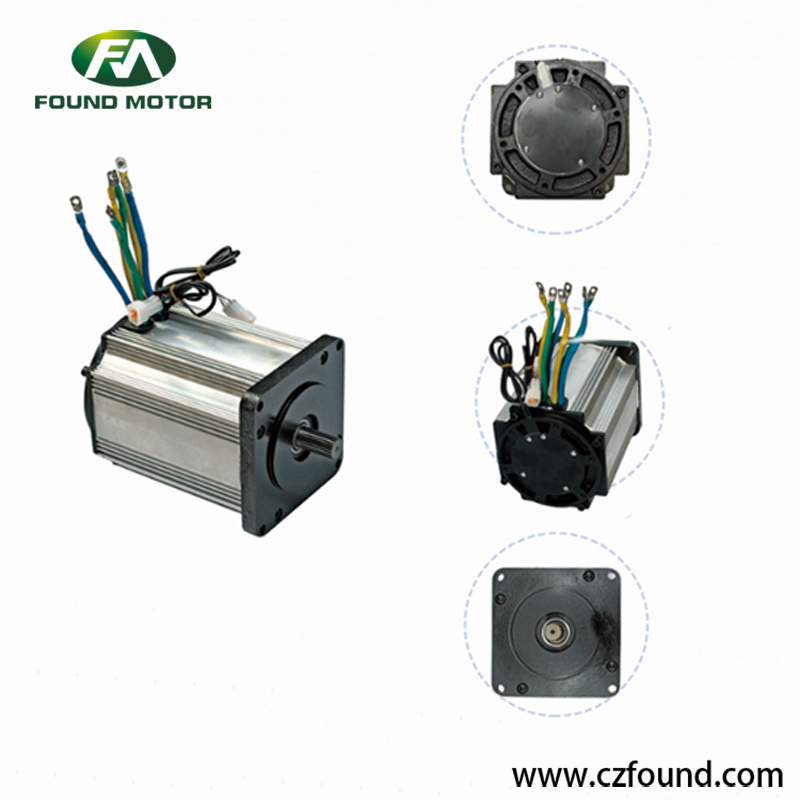 72V/ 5000W Switched reluctance motor for electric tricycles and three wheel rickshaw