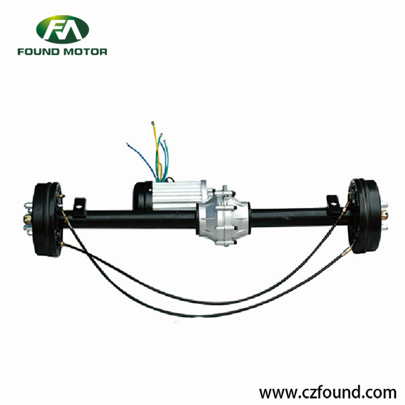 Gearbox rear axle Switched reluctance motor for electric tricycles and three wheel rickshaw