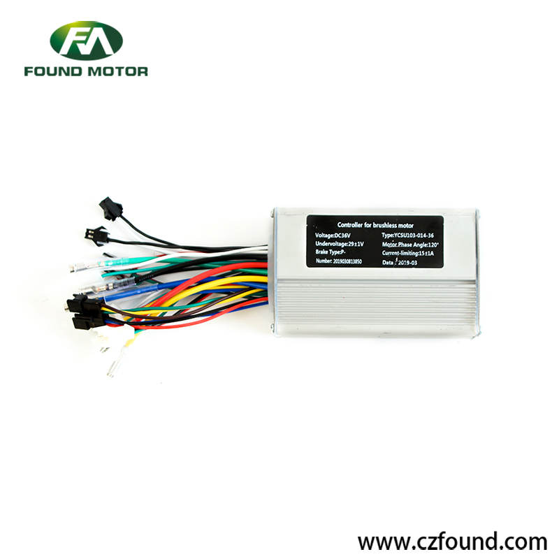 Electric bike accessories controller FOC-6 for electric bike and electric scooter