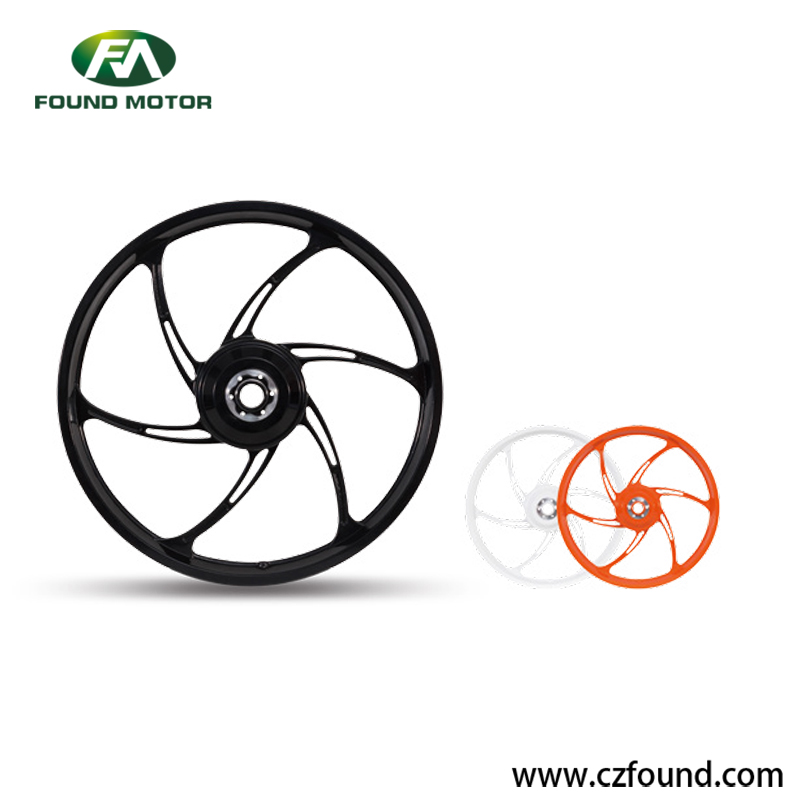 36V 250W Magnesium Alloy Electric Wheel Hub Motor For Electric Bicycle