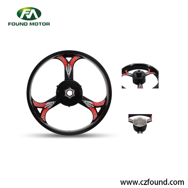 Electric Snow Bike Wheel Hub Motor 20'' 36V 250W Magnesium Alloy CE Certificate