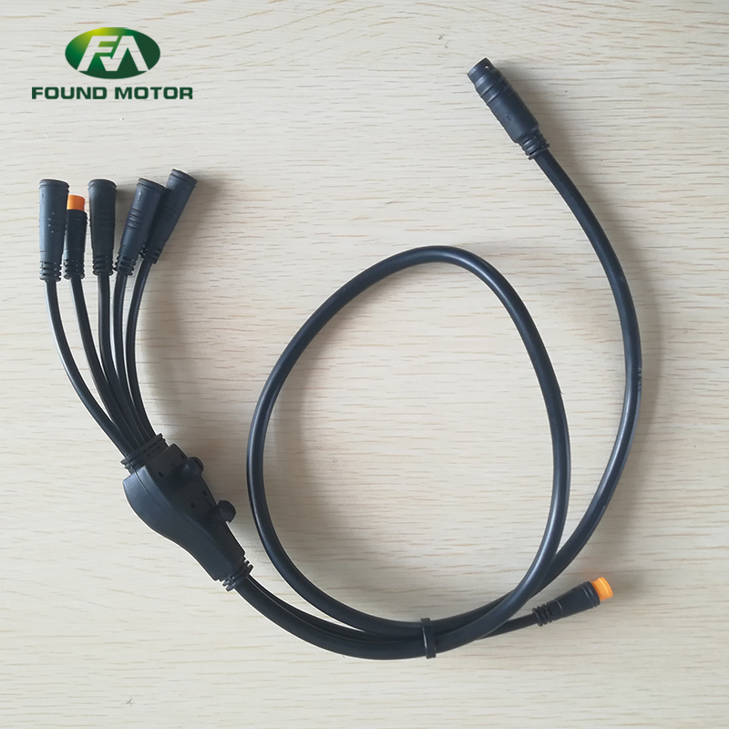 Electric bike conversion kit with waterproof bus cable case 5
