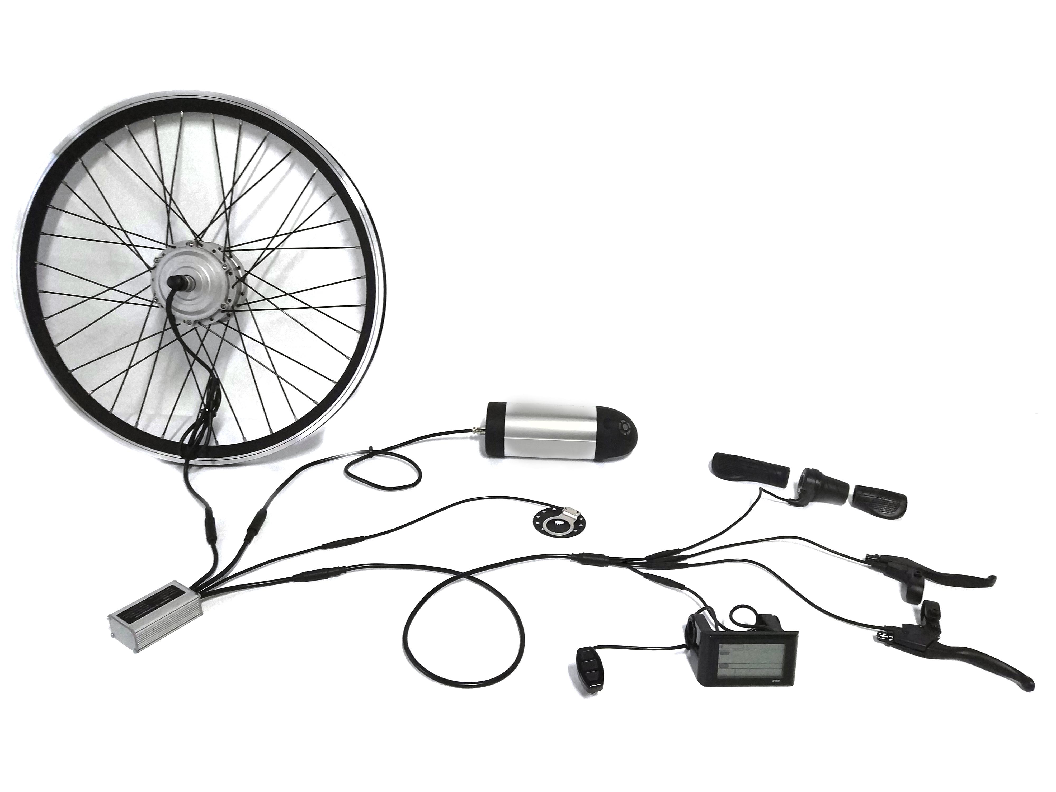found motor electric bike conversion kit
