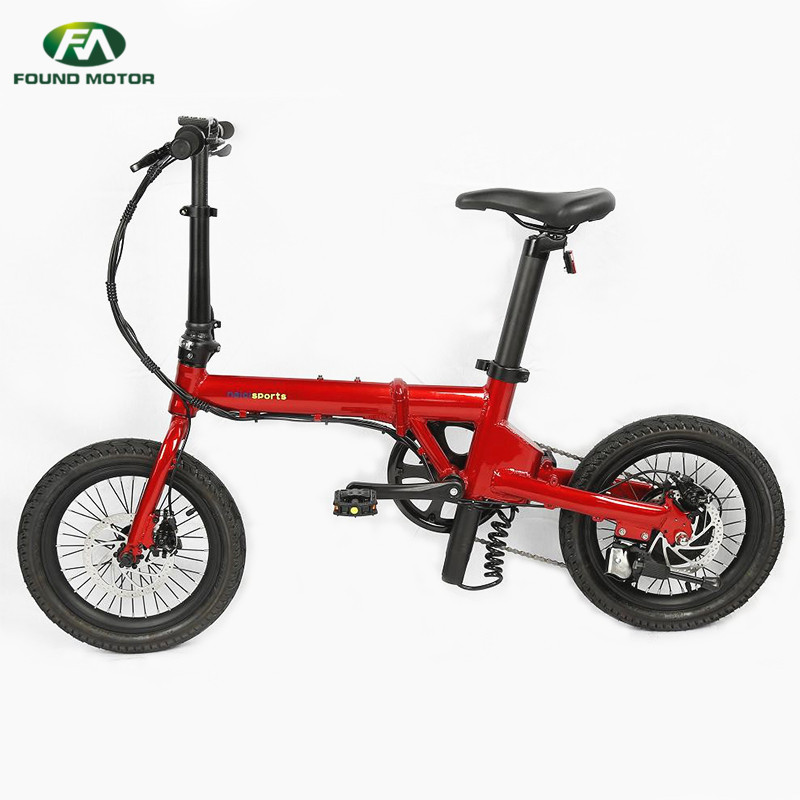 36V5.2AH lithium battery, maximum endurance 30km, weight 16KG for foldable electric bike