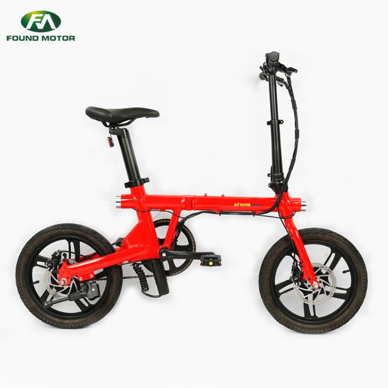 16-inch aluminum alloy integrated wheel for foldable electric bike