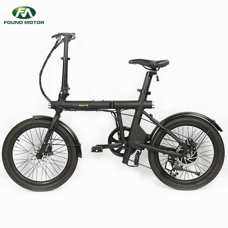 20 inch spoke wheel and 36V5.2AH lithium battery, aluminum alloy frame for foldable electric bike