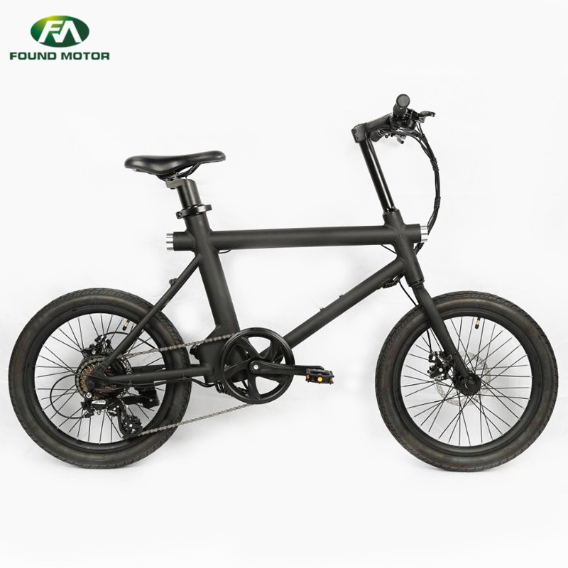 36V10.4AH lithium battery, 350W brushless geared motor, maximum speed 25KM/H for foldable electric bike